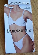 New Barely There Style #4344 Checkmates Lined Soft Cup Underwire Bra
