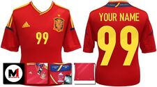*12 / 13 - SPAIN HOME SHIRT SS / PERSONALISED = SIZE*
