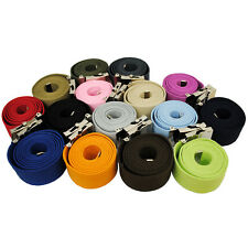 Brand New Canvas Military Web Belt Shinny Buckle Wholesale 17 Colors