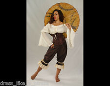 DRESS LIKEA PIRATE BRAND SEXY COOL & COMFY RENN OR STEAMPUNK BLOOMERS
