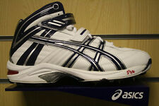*NEW* ASICS GEL-8 FOR 64 HIGH ANKLE CRICKET BOWLING BOOTS / SHOES / SPIKES
