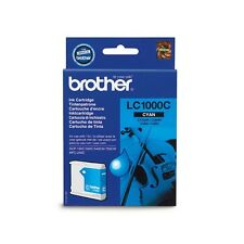 Genuine Brother LC1000C Cyan Ink Cartridge for DCP MFC Fax Printers
