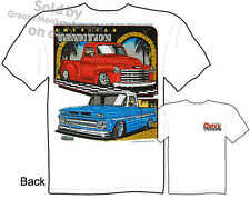 47-53 62-66 Pickup T shirt Chevy Truck T Shirts 48 49 50 51 52 Sz M L XL 2XL 3XL