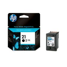 Genuine HP 21 Black Ink Cartridge C9351AE for Printers inc Deskjet D1450 & more