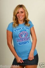 New Junk Food Little Miss Naughty This Is My Naughty Shirt Juniors T-Shirt