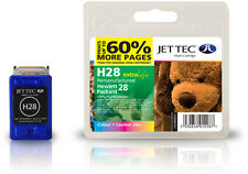 Remanufactured Jettec HP28 Tri-Colour Ink Cartridge for PSC 1218 & more