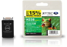 Remanufactured Jettec HP338 Black Ink Cartridge for Photosmart 8750 & more