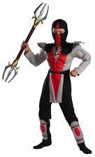 Bounty Hunter Ninja Warrior Shadow Ninjas Deluxe Muscle Halloween Child Costume