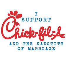Anti Obama  CHICK FIL A/  SANCTITY OF MARRIAGE  Conservative Political T Shirt