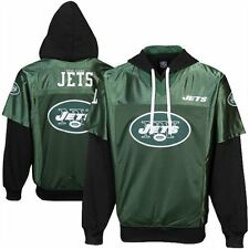 New York Jets Pullover Hoodie Gridiron Jersey NFL NY JETS Team Apparel Adult