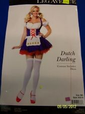 Dutch Darling Oktoberfest Beer Garden Girl Dress Up Halloween Sexy Adult Costume