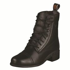 Ariat KIDS Performer LACE Paddock Boots - BLACK & BROWN - All Sizes