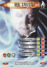 Doctor Who Exterminator Common Trading Cards Pick From List 044 To 079
