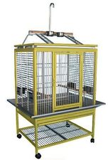 KINGS CAGES ALUMINUM PARROT CAGE ACP3325 bird toy toys african grey cockatoo