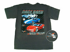 Corvette Grand Sport  Race Bred Gray T-shirt