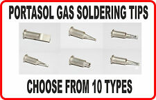 GAS SOLDER TIPS ENDS FOR PORTASOL SOLDERING IRON SUPERPRO