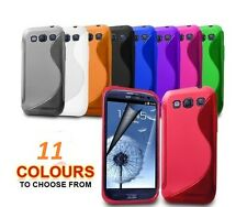 Samsung Galaxy S3 S111 i9300 S-Line Gel Skin Case Cover NEW