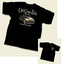 OLD GUYS RULE PLAYS WITH TRUCKS BLACK TEE SHIRT