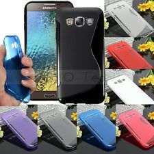 S Line TPU Gel Silicone Back Cover Case for Samsung Galaxy S Advance i9070 NEW