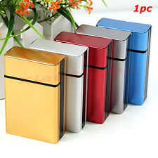 Hot New Aluminum Travel Cigar Cigarette Case Pocket Box Holder