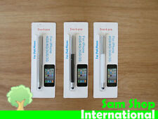 New! 2in1 Touch Screen Stylus Pen iphone 5 4 i pad 4/3/2 mini Galaxy w/ Ball Pen