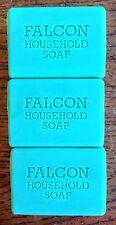 FALCON HOUSEHOLD SOAP & CARBOLIC SOAP X 3 BARS 125g TABLET OF SOAP CLEANING