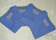 NW Lot  4 ARAMARK Unisex Reversible Scrubs Hospital Medical Uniform Tops