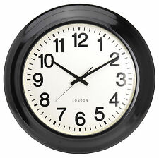 Extra Large 62cm Metal Wall Clock Modern Contemporary Design