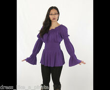DRESS LIKE A PIRATE ELEGANT WENCH PRINCESS STEAMPUNK BLOUSE 8019