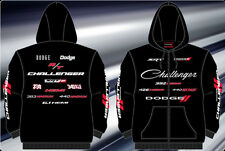 Dodge Challenger Hoodie Zip Jacket Embroidered Adult JH Design Licensed