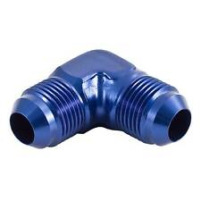 APS 822 Series Anodised Blue 90 Degree Elbow Male To Male Union/Connector
