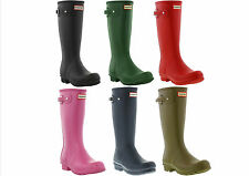 Hunter Original Kids Wellington Boots / Welly Kids / Older Girls / Boys UK 13-5