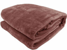 QUALITY Mink Blanket 160 x 220cm -  SINGLE / KING SINGLE - PICK YOUR COLOR