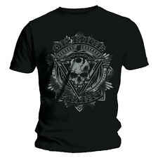 Official T Shirt Black OF MICE AND MEN Metal RELEASE  All Sizes