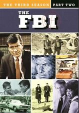 THE FBI SEASON 3 PART 2 New Sealed New 3 DVD Set Warner Archive Collection