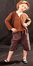 Victorian/Edwardian BROWN WORKHOUSE/URCHIN/BEGGAR/OLIVER Costume all Ages/Sizes