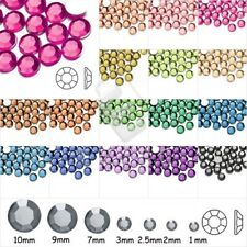 5mm Round Crystal S22 Flat Back Rhinestones DIY Phone Art Non-Hotfix Wholesale