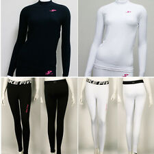 New Womens Winter Compression Under Base Layer Skin Tight Pants or Shirts