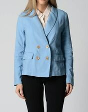 Sportsgirl Ladies Chambray Double Breasted Jacket sizes 6 8 Colour Blue