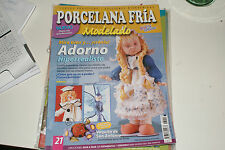 COLD PORCELAIN MAGAZINE CRAFT PORCELANA FRIA ANGEL FAIRY DOLL GIRL BUNNY DOG BEA