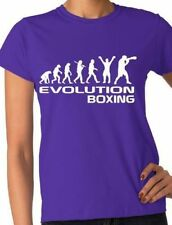 Evolution Of Boxing/Boxer Adult/Ladies T-Shirt  Size S-XXL