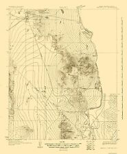Historical Topographic Maps - MOHAVE CITY NEVADA (NV/CA/AZ) USGS  1926