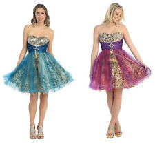 2 COLORS Sexy Short  Ball GownDance  Dress Party Gala Prom Evening Pageant 4-16