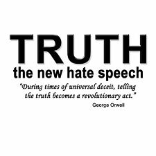 Anti Obama  TRUTH THE NEW HATE SPEECH Conservative Political T Shirt