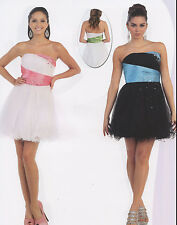 Cocktail Dress Bridesmaids Homecoming Short Prom Formal Gown Birthday Party 4~20