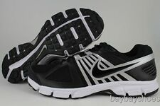 NIKE DOWNSHIFTER 5 EXTRA WIDE 4E BLACK/WHITE/SILVER RUNNING LOW MENS SIZES