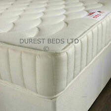 SPRUNG QUILTED POCKET SPRUNG MATTRESS3FT SINGLE 4FT6 DOUBLE 5FT KING SIZE 10""