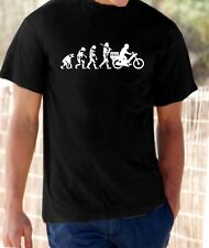 Evolution of Man, Pizza Delivery Moped t-shirt
