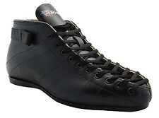 Riedell 595 Leather Competitive and Recreational Speed Skate Boot Men Size 4-13
