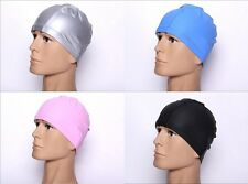 PU swimming cap waterproof high elastic cap ear hair and waterproof Le head